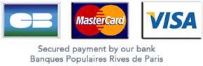 Cartes de crédit acceptées chez le coin des bois Paris
